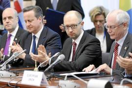Ucrania y la UE firman el contenido político de su acuerdo de asociación