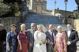 Boda de Inmaculada Díaz y Fernando García  en el Castell de Bellver