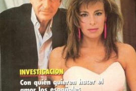 Ana Obregón y su peculiar despedida de Suárez