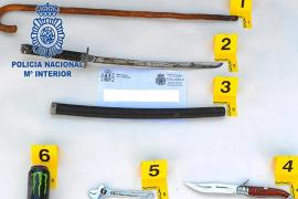 La policía interviene todas las armas utilizadas en el intento de asesinato en Son Cladera