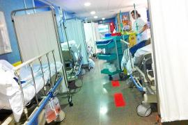 Vuelven a denunciar que el servicio de Urgencias del Hospital d'Inca está colapsado