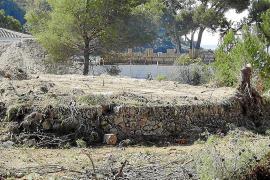 El Consistorio suspende de forma cautelar las obras en Camp de Mar