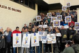 Los policías de Palma rechazan las agresiones a sus compañeros en Madrid