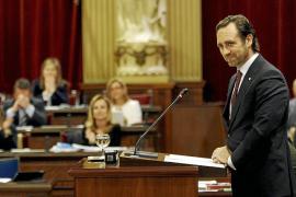 Bauzá presume de haber apartado a Balears «del precipicio» con su política