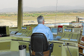 Los controladores aéreos de Palma denuncian que la falta de personal afecta a la seguridad