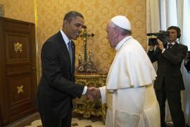 El papa y Obama, cara a cara