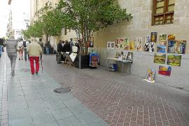 Pena de cárcel por pinchar con un tenedor a un hombre en la calle Sant Miquel