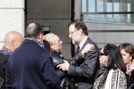 Rajoy da el último adiós a su hermano Luis en Pontevedra