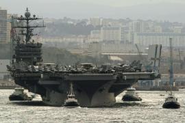 El portaaviones nuclear 'Harry Truman' visitará Palma