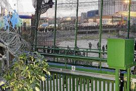Diez personas logran entrar en Melilla tras intentarlo casi 800