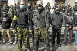 La concentración de tropas rusas en la frontera inquieta a Ucrania y a EE UU
