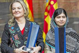 Malala reivindica el poder de la palabra para luchar contra el terrorismo