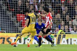 El Atlético y Diego Costa aguantan el liderato con un recital en Bilbao