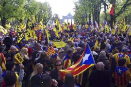 Unas 3.500 personas se manifiestan en Bruselas en favor de la autodeterminación