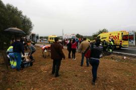 Un fallecido y un herido grave en un accidente en Santa Eugènia