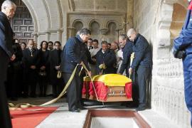 El dictador de Guinea, Teodoro Obiang, asiste hoy al funeral por Adolfo Suárez