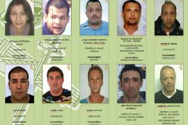 La Guardia Civil publica las fotos de los 10 fugitivos más buscados de España