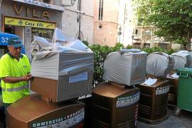 El nuevo sistema de recogida de basura del centro costará 1,4 millones como máximo