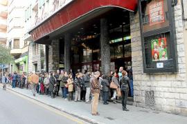 Gran éxito en la primera jornada de 'La fiesta del cine' en Mallorca
