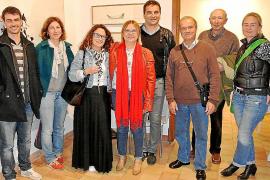 Antònia Borràs artistas del mes en el Museu de Pollença