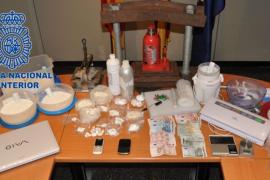 Detenida una mujer por adulterar partidas de droga en un trastero de Pere Garau