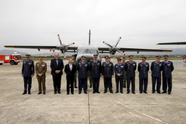 Homenaje en Palma a los cuatro militares desaparecidos en Canarias