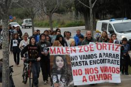 Cuarenta personas se concentran en recuerdo de Malén Ortiz