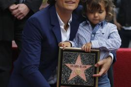 El pequeño Flynn 'roba' el protagonismo a su padre, Orlando Bloom