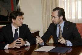 Las relaciones entre Bauzá e Isern son «totalmente cordiales», según el Govern
