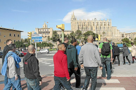 Los militares americanos disparan las ventas un 25% en todo el centro de Palma