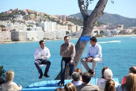 Bauzá alardea de «sacar a Balears del pozo, como pidió la sociedad»