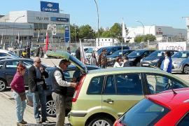 La feria de vehículos de ocasión del polígono se consolida como referente