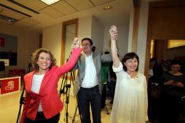 Armengol gana a Calvo con el 54,58% y será la candidata del PSOE