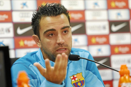 Xavi reprende al Madrid y a la FIFA