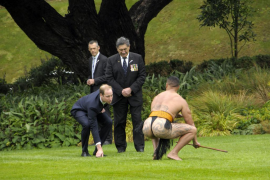 Guillermo de Inglaterra en Nueva Zelanda