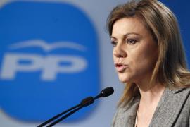 Cospedal comparece a mediodía y podría dar a conocer el candidato del PP a las europeas