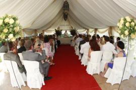 El coste medio de una boda en Balears se sitúa en 15.210 €, un 21% más que en 2013