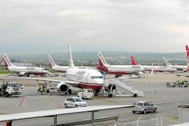 La rivalidad entre aerolíneas alemanas impide la llegada a Mallorca de 400.000 pasajeros