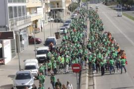 Más de 92 millones de pasos por una educación «pública, de calidad y en catalán»