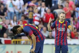 El Barcelona se deja media liga en Granada