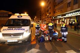 Un hombre se encuentra en estado grave tras ser atropellado en Palma