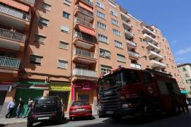 Una mujer de 80 años y un hombre de 27, en estado grave tras dos  incendios en  Palma