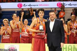 Alba Torrens, MVP de la fase, y Sancho Lyttle hacen campeón al Galatasaray