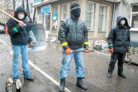 Fuerzas ucranianas y separatistas prorrusos ya se enfrentan a tiros