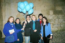 La Seu se viste de azul en el Día del Autismo