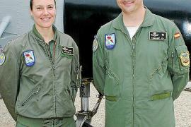 Despedida en la Base Aérea de Son Sant Joan