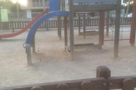 Parque infantil del barrio El Amanecer, en Palma.