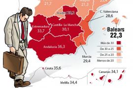 Las cinco regiones de la Unión Europea con más parados son españolas