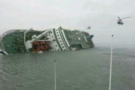 Ya son nueve los muertos en el  hundimiento del transbordador surcoreano