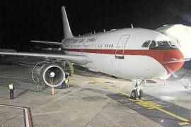 Una avería en el avión retrasa el regreso del Rey de Kuwait